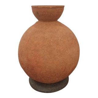 Prehistoric African Terra Cotta Vessel For Sale
