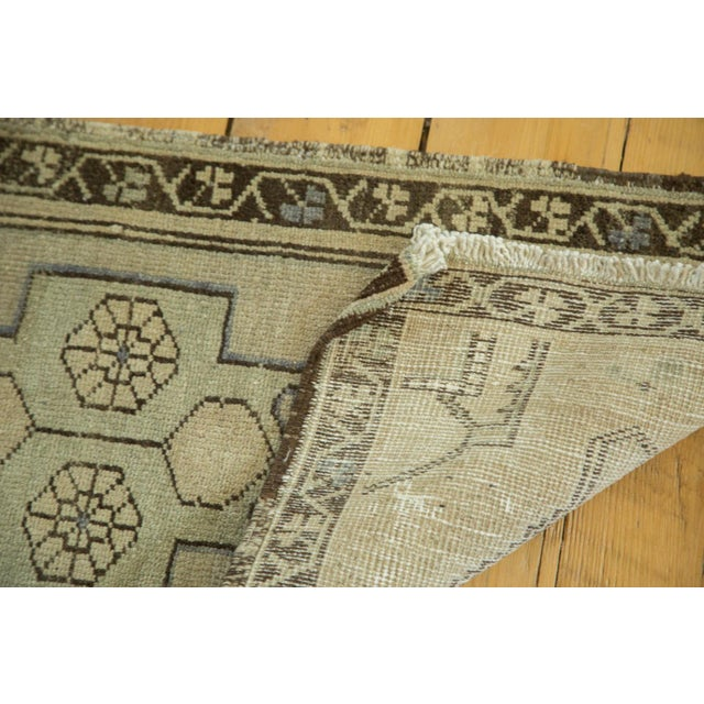 "Vintage Turkish Oushak Runner - 1'6"" x 3'2"" - Image 5 of 5"