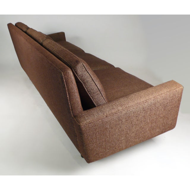 H. G. Knoll and Associates Early Florence Knoll Down-Filled Sofa For Sale - Image 4 of 7