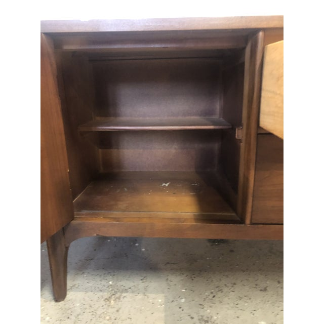 1960s Mid Century Modern Walnut Credenza For Sale - Image 10 of 13