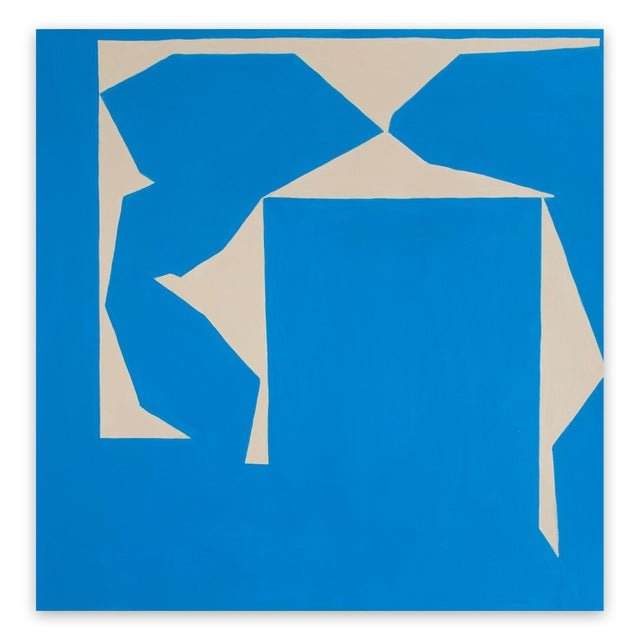 """2010s Ulla Pedersen """"Cut-Up Paper I.14"""", Painting For Sale - Image 5 of 5"""