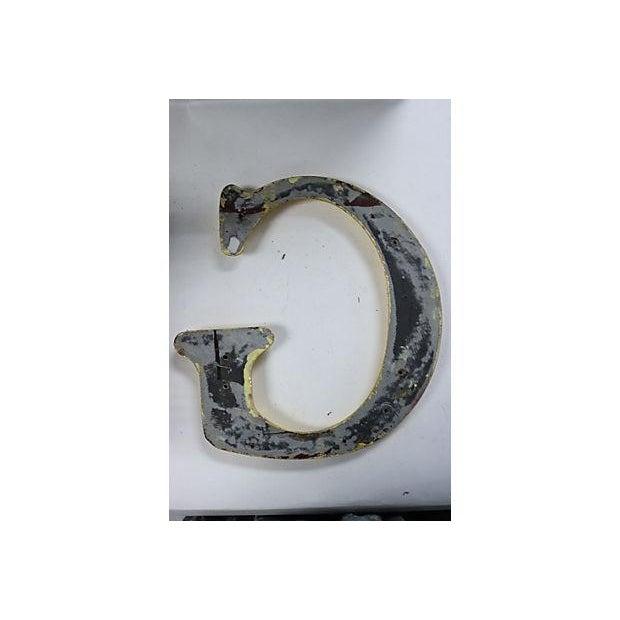 """Vintage English Pub Sign Letter """"G"""" - Image 3 of 3"""