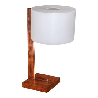 Luxus Rosewood Desk Lamp For Sale