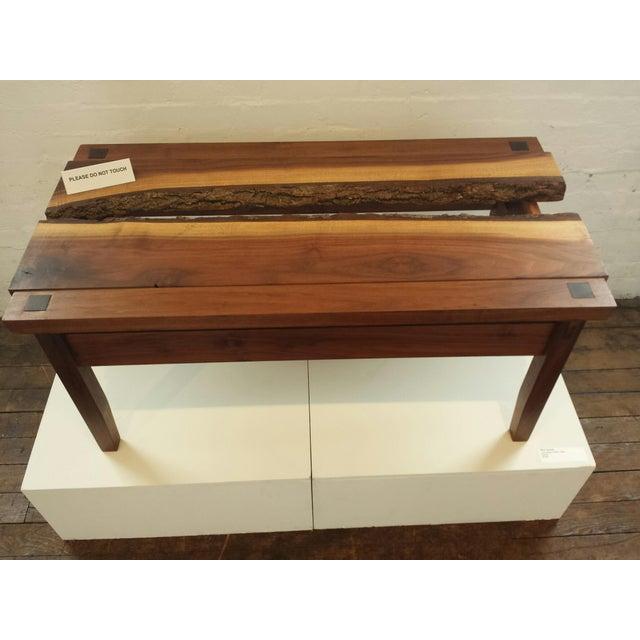 Custom Walnut Coffee Table - Image 2 of 4
