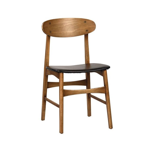 Modern Scoop Back Dining Chair - Image 1 of 2
