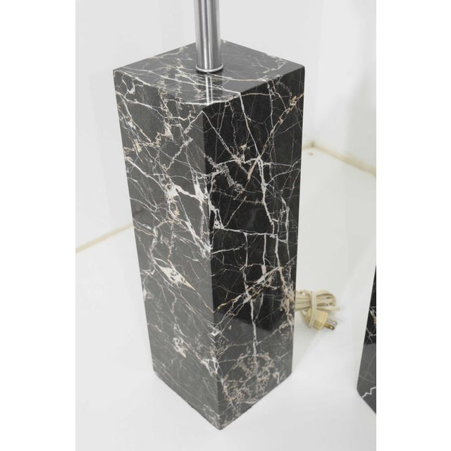 Marble Table Lamps by Nessen Studio - a Pair For Sale In Dallas - Image 6 of 12