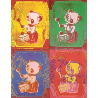 Andy Warhol, Four Pandas, 1990, Edition: 2500, Offset Lithograph For Sale