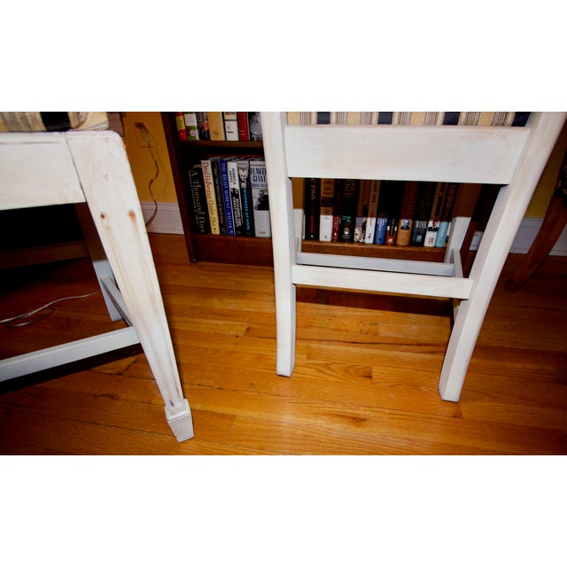 Vintage 1940s Accent Chairs - a Pair For Sale - Image 9 of 11