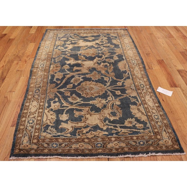 Antique Persian Tabriz Rug - 4′2″ × 6′4″ For Sale In New York - Image 6 of 8