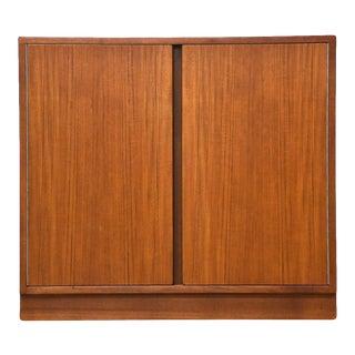 Danish Teak Credenza Cabinet For Sale