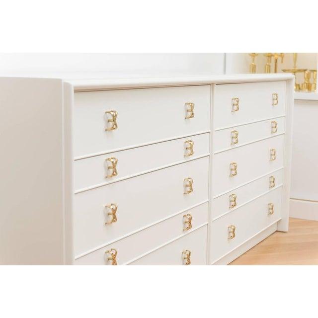 Paul Frankl 10 Drawer Dresser - Image 6 of 8