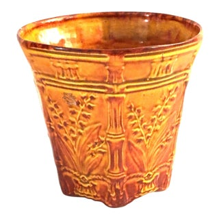 Cherokee Pottery Chaffs of Wheat Glazed Vase