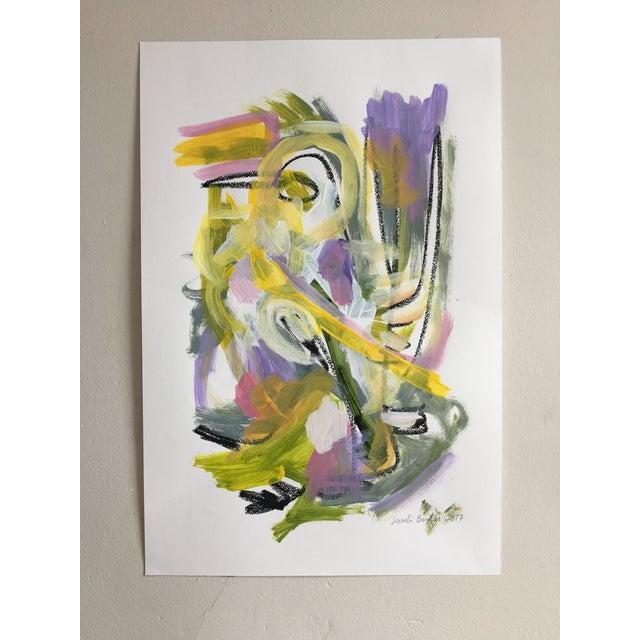 "Jessalin Beutler ""No. 86"" Acrylic Painting - Image 2 of 6"