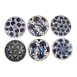 Iznik Ceramic Pottery | Navy and White
