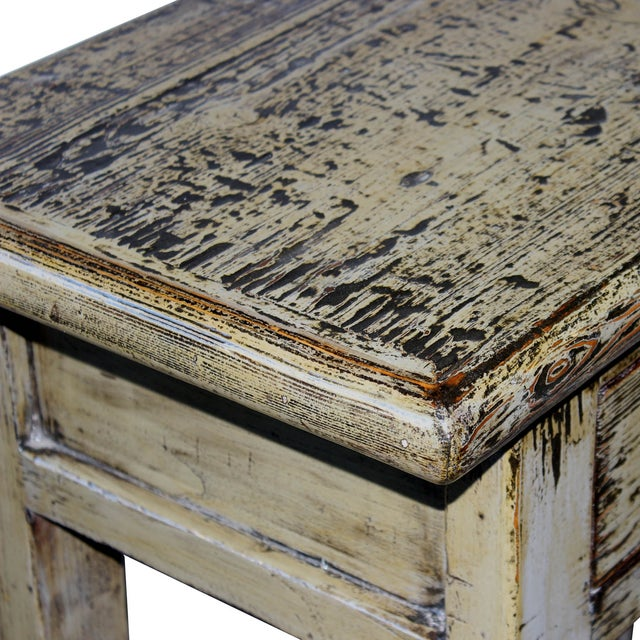 Gray Console Table - Image 5 of 6