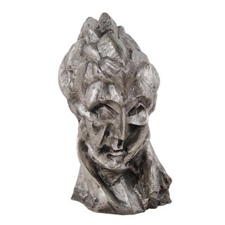 Pablo Picasso Style Solid Bronze Fernande Bust