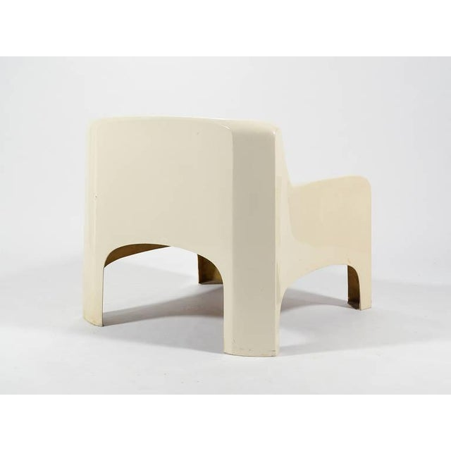"Carlo Bartoli ""Gaia"" Lounge Chair by Arflex For Sale - Image 9 of 9"