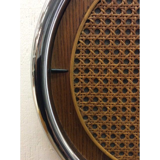 Rare Arthur Umanoff Howard Miller Key Wind Pendulum Clock For Sale - Image 9 of 11