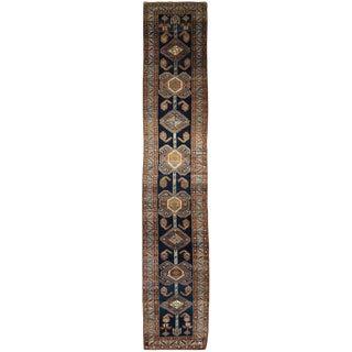 Antique Persian Heriz Hall Runner
