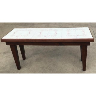 Vintage Mid-Century Modern Tile Top Coffee Table Preview