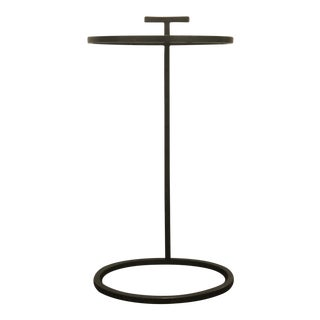 Antique Brass Martini Side Table For Sale