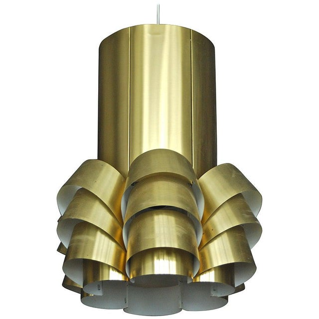 1960s Large Pendant by Hans Agne Jakobsson For Sale - Image 5 of 5