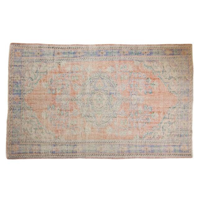 "Vintage Distressed Oushak Carpet - 6'2"" X 9'8"" For Sale - Image 13 of 13"