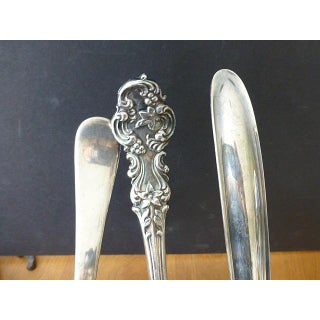 Mid 20th Century 3 Punch Vintage Mid Century Modern Silverplate Assortment Set - Set of 3 Preview