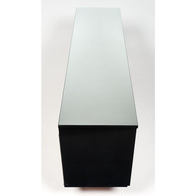 Modernist Danish Chest With Mirrored Top For Sale In Austin - Image 6 of 10