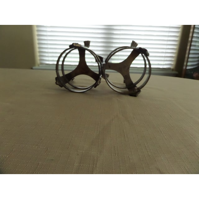 Vintage Solid Brass Candle Holders - A Pair - Image 7 of 8