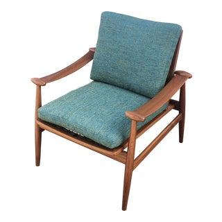 Vintage Mid-Century Finn Juhl for France & Daverkosen Spade Chair For Sale