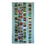 Image of Quilt, Reminiscent of Charles Rennie Mackintosh For Sale