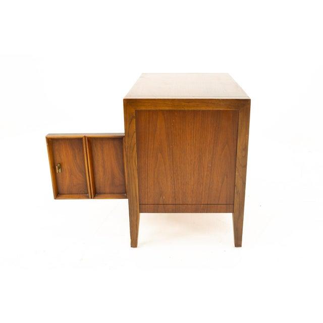 Drexel Mid Century Walnut Nightstand For Sale - Image 10 of 13