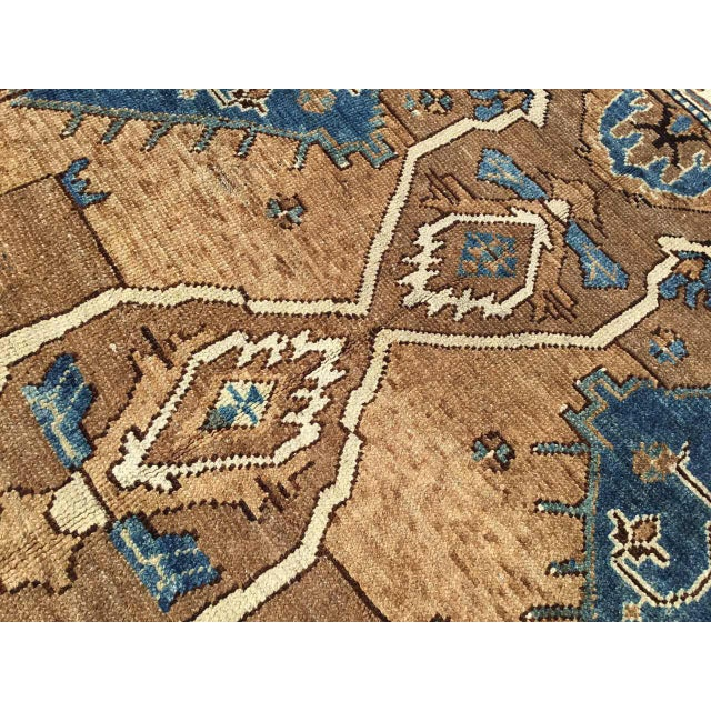 Vintage Hand Knotted Anatolian Rug For Sale - Image 9 of 12