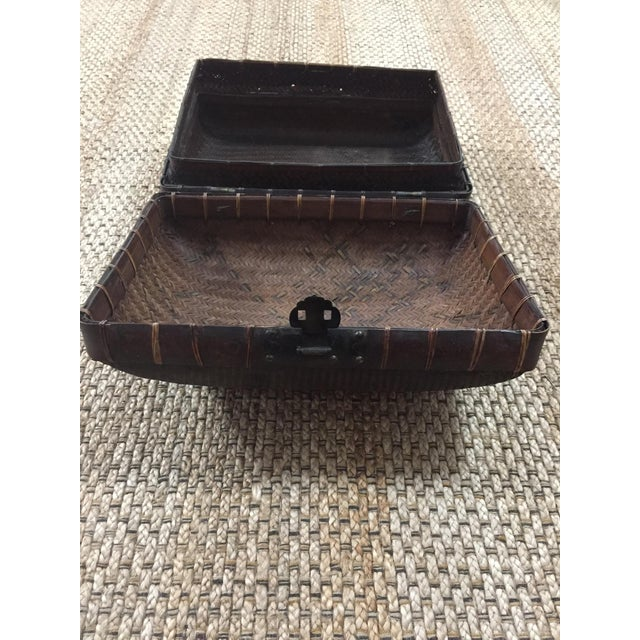 Mid 19th Century Mid 19th Century Antique Storage Basket For Sale - Image 5 of 12