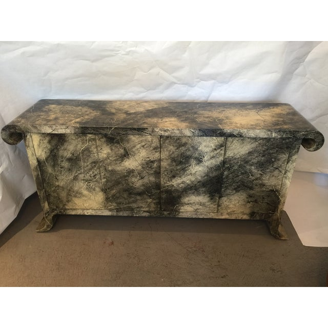 1970's Lacquered Baker Credenza - Image 8 of 11