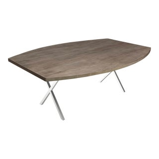 X Base Dining Table 2 For Sale