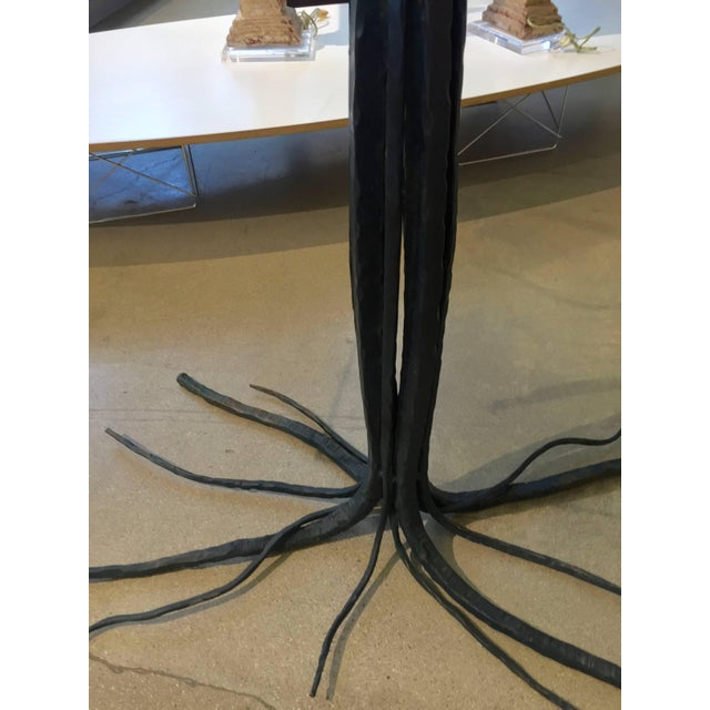 Metal Iron Branch or Twig Shaped Table For Sale - Image 7 of 8