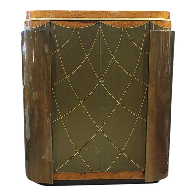 Leavitt Weaver Art Deco Wardrobes, 2 Available For Sale