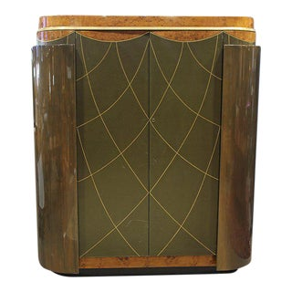 Pair of Leavitt Weaver Art Deco Style Wardrobe For Sale