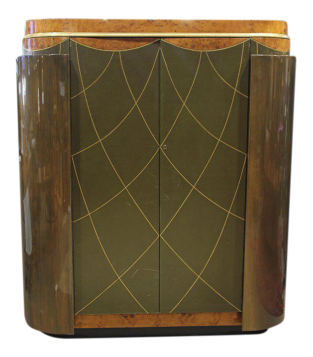 Genial Pair Of Leavitt Weaver Art Deco Style Wardrobe
