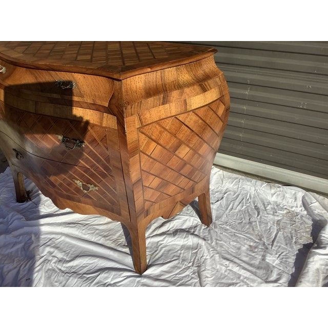 Italian Bombay Chest W/ Parquetry For Sale - Image 11 of 13