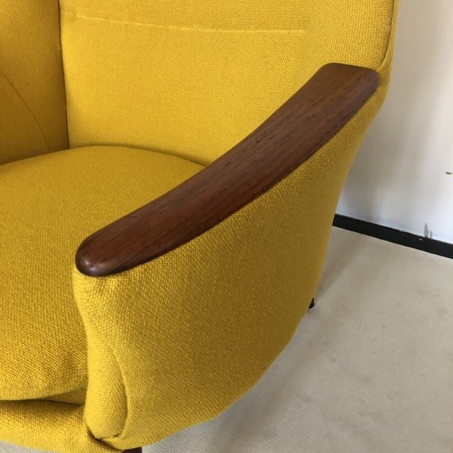 Wood Kurt Orstervig for Rolschau Mobelfabrik Lounge Chair For Sale - Image 7 of 12