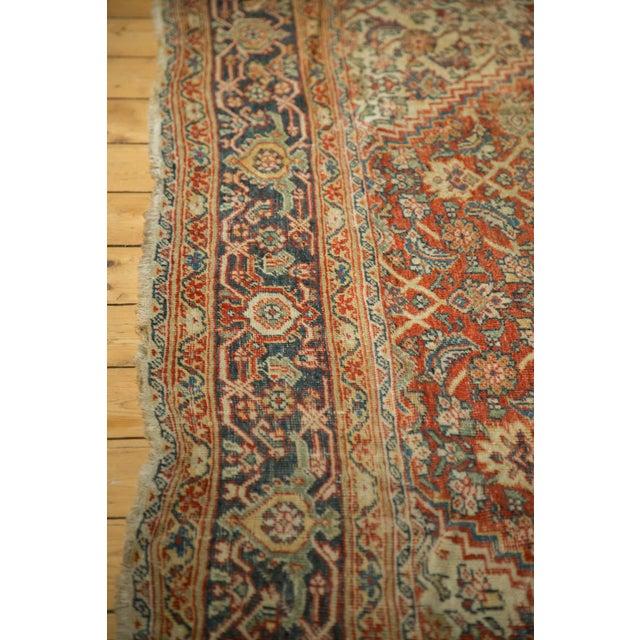 """Antique Mahal Square Carpet - 9'11"""" x 9'8"""" - Image 10 of 10"""