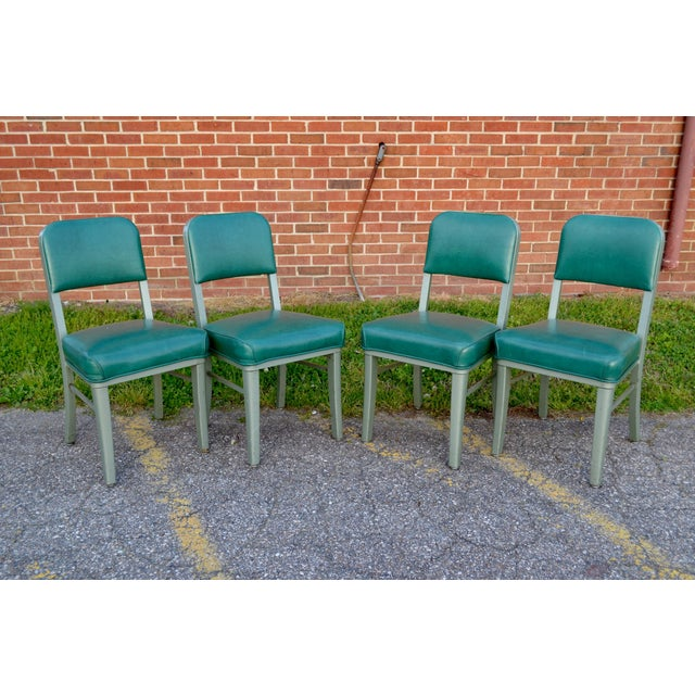 Steelcase Mid Century Office Chairs - Set of 4 For Sale - Image 7 of 8