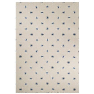 "Stark Cashmere Blanket, Blue, 51"" x 71"" For Sale"