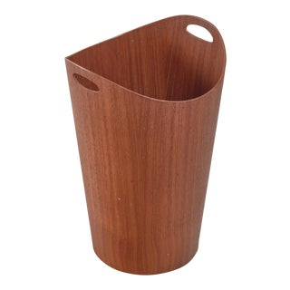 Teak Waste Bin by Servex, Sweden, 1960s For Sale