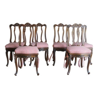 French Antique Dining Chairs - Set of 6