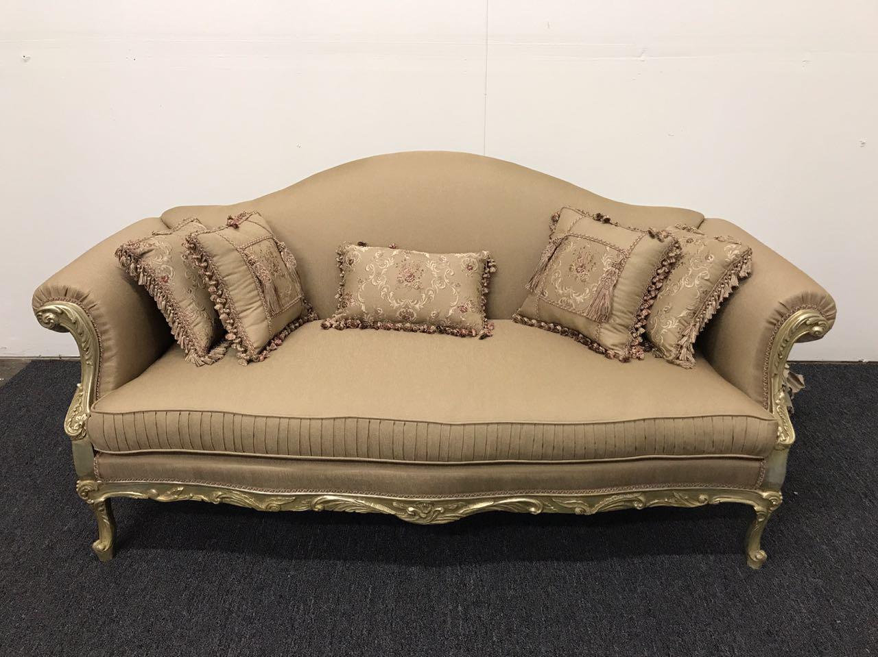 authentic handmade french style sofa chairish rh chairish com french style sofa and chairs french style sofa set