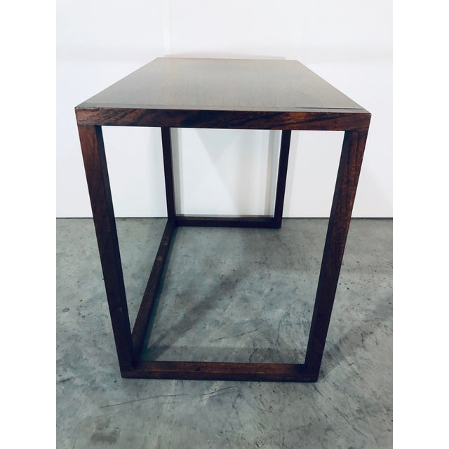 1970s Karl-Erik Ekselius Nesting Tables for j.o. Carlsson - 2 Pieces For Sale - Image 5 of 13
